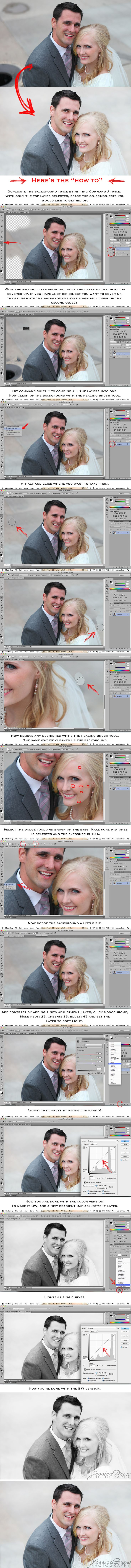 Remove objects from the background of your photo in Adobe Photoshop CS6