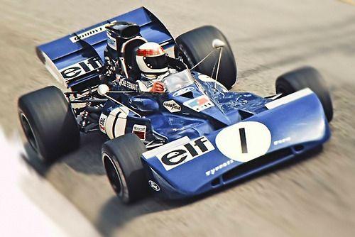 Jackie Stewart, Tyrrell 004 Ford, 1972