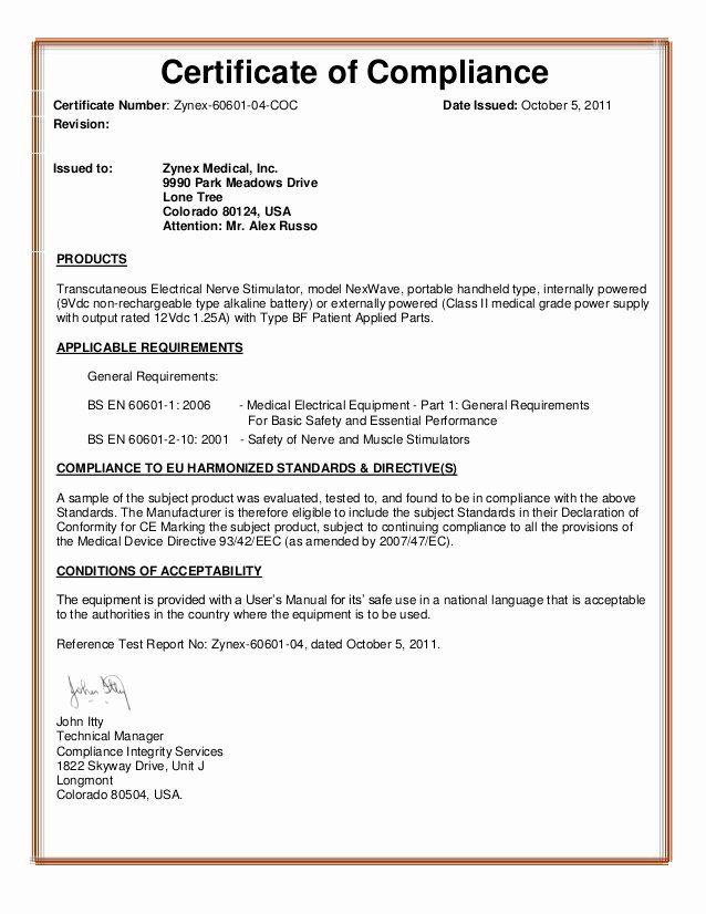 Certificate Of Compliance Template Unique Microsoft Word Certificate Of Pliance Template Aktin Certificate Templates Templates Certs