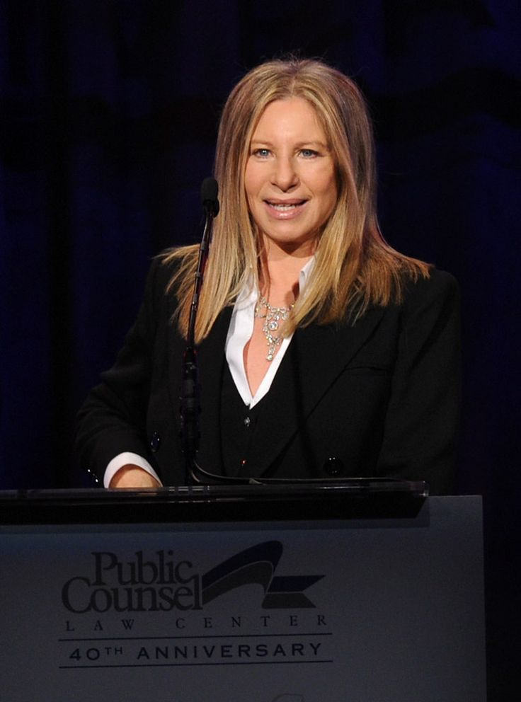Barbra Streisand Photos: Public Counsel's William O. Douglas Dinner - Inside