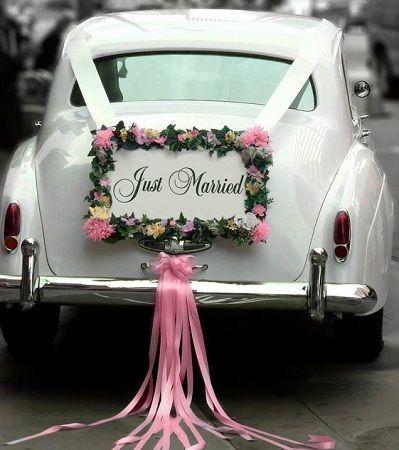 Wedding Magazine - 13 ways to decorate your wedding car