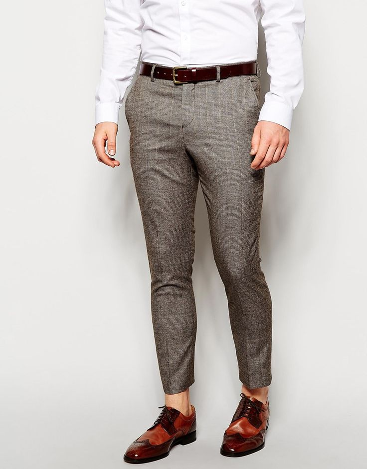 These check trousers are perfect for next season. I would wear these with a chunky boot or classic trainers. http://asos.to/1qhjZam #menswear #style #checked #trousers #asos_kieron
