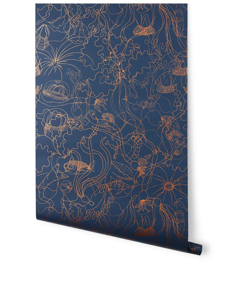 Underwater World (Deep Blue) World wallpaper, Underwater