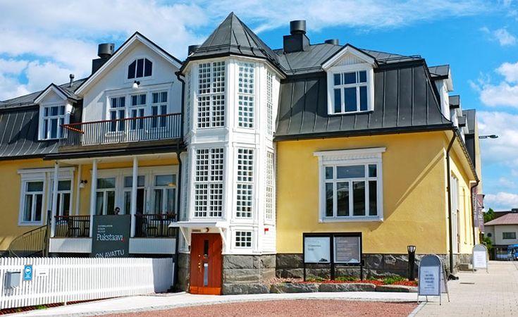 Suomalaisen kirjan museo Pukstaavi | Sastamala