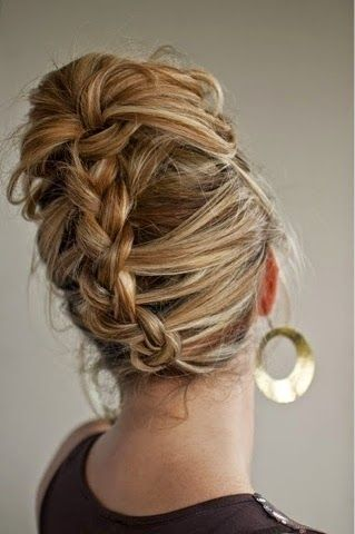 How to Chic: 9 GORGEOUS HAIRSTYLES WITH BRAIDS