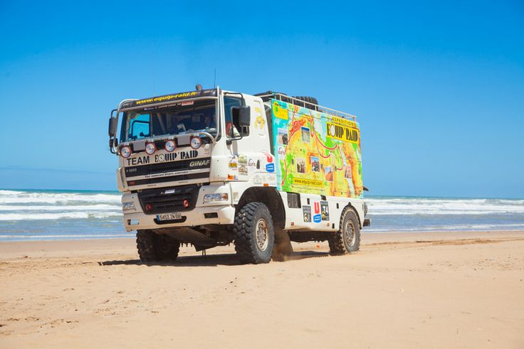 Camion Ginaf Assistance location Rally raid