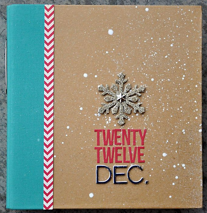 December Daily - 12 cover created by Layle Koncar using our teal SN@P! Binder