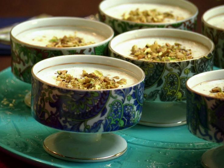 Indian Rice Pudding recipe from Aarti Sequeira via Food Network. This one requires basmati rice (1/2 cup) and a LOT of milk (6 cups). Also cardamon