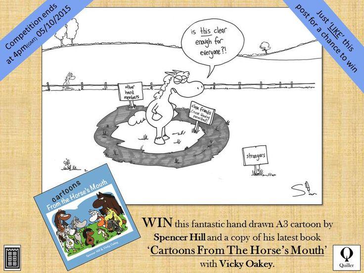 Check out our #Facebook #competition to #win this A3 #cartoon and #book by #cartoonist @spencerhill.co.uk head to the link to enter, GOOD LUCK https://www.facebook.com/QuillerPublishing/photos/a.252154158156880.59806.160928030612827/957374774301478/?type=3&theater