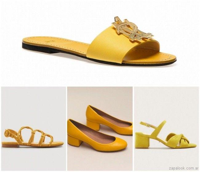 79a05dc4 Sandalias y Zapatos de colores primavera verano 2019 | Zapalook - Moda en  Zapatos 2019