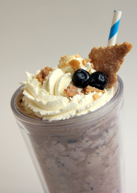 Blueberry Iced Coffee Recipe — Dishmaps