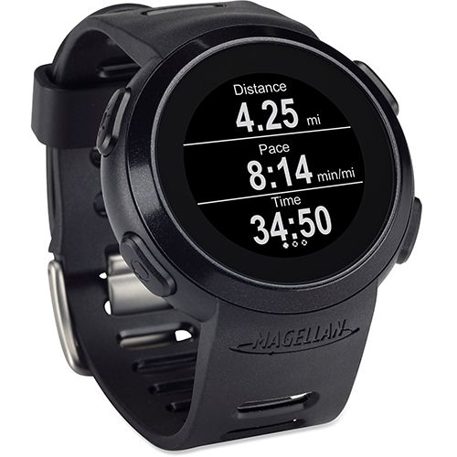 Magellan Echo with Heart Rate Monitor Black: Magellan GPS Watches  #fitness data #heart rate monitor #Magellan Echo #Magellan GPS #smartphone #The Echo MonitorWatches.com