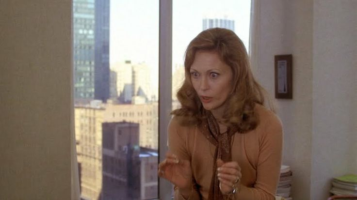 Faye Dunaway as Diana in Network