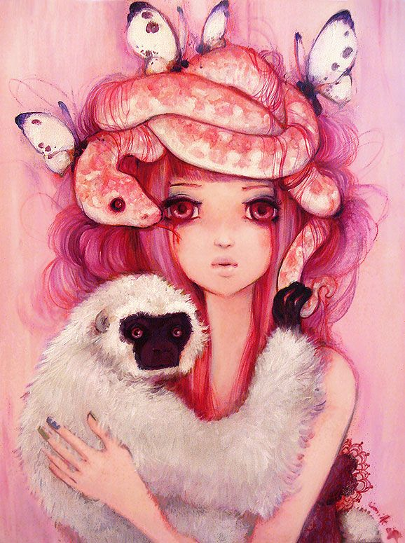 OMG! I want to pin all of her paintings!! Camilla D'Errico