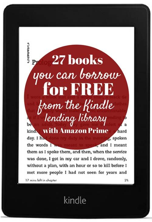 27 books you can borrow for free from the Kindle lending library (with Amazon Prime)
