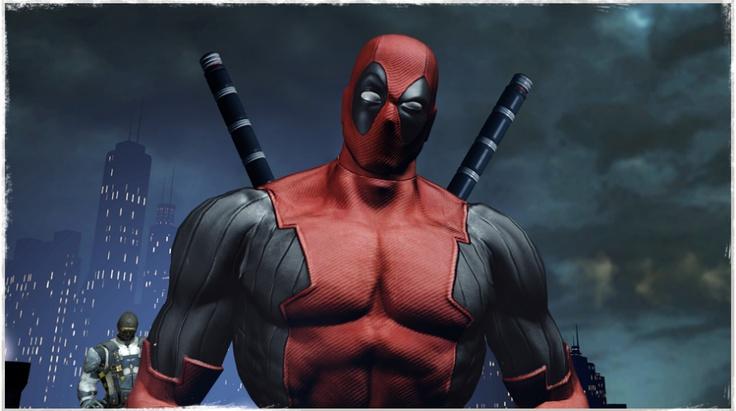 Imagem do novo jogo do Deadpool...