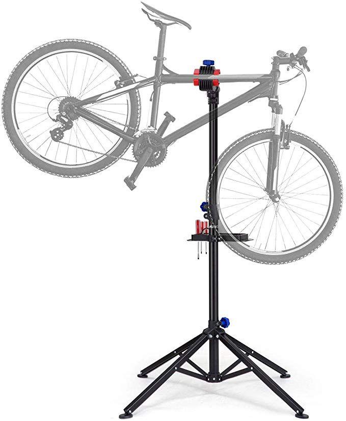 Kuokel Bike Repair Stand Foldable Bicycle Repair Rack Workstand