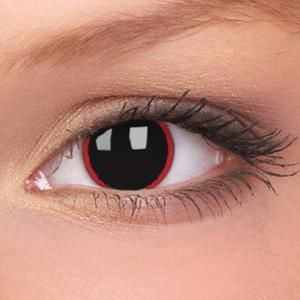 Red Ring Around Iris From Contacts
