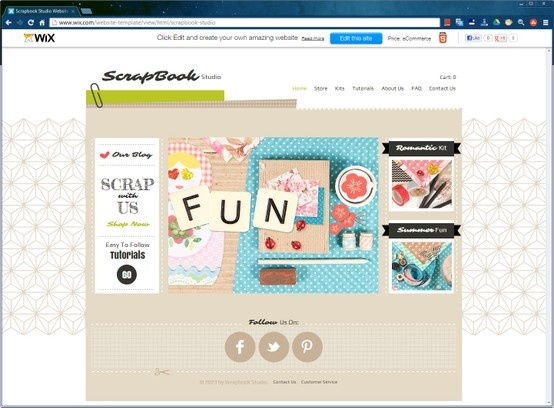 The 146 best Website Design Templates by Wix images on Pinterest ...