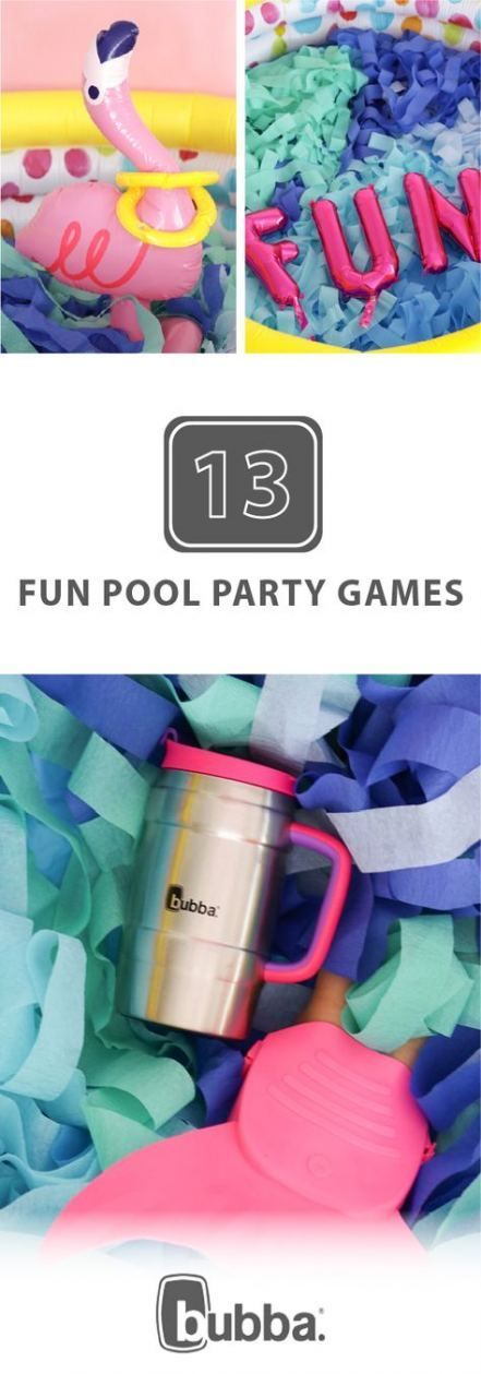Fun Pool Games For Adults Luau Party 44 Ideas