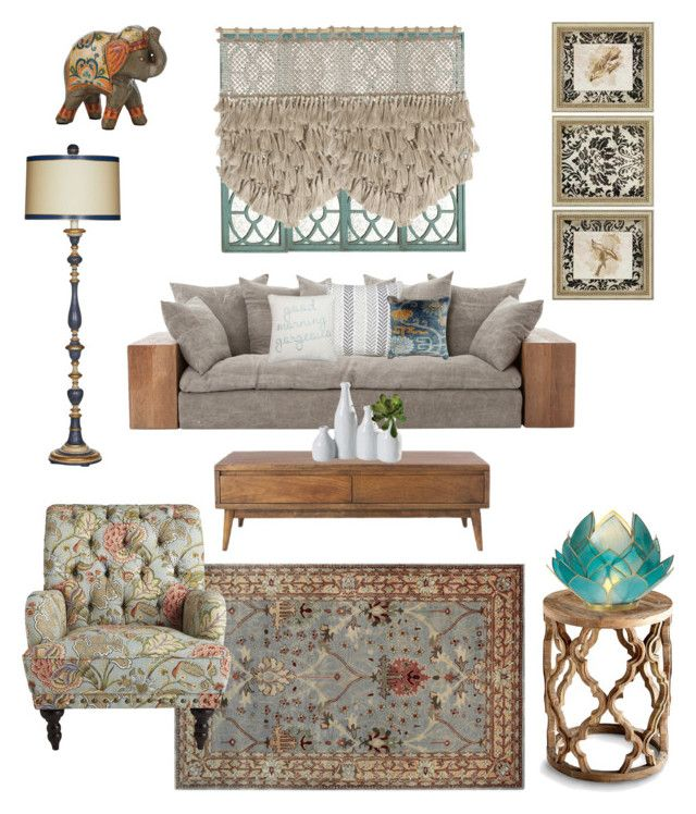 """The oriental dream"" by raffaellapapami on Polyvore featuring interior, interiors, interior design, home, home decor, interior decorating, Home Decorators Collection, Thro, Linon and Dolma"
