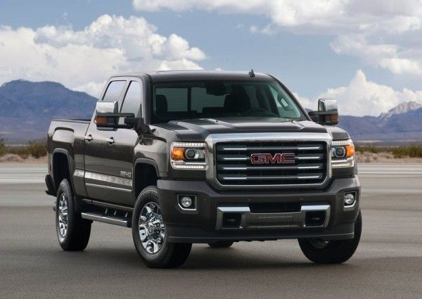 2015 GMC Sierra All Terrain HD Front Exterior 600x425 2015 GMC Sierra All Terrain HD Review, Features with Images
