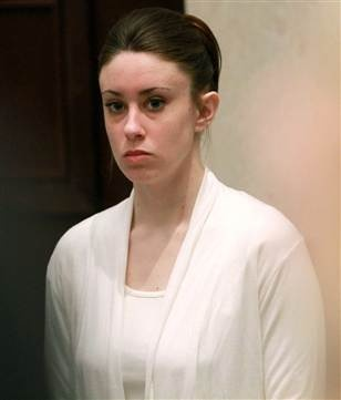 """Casey Anthony says, """"Obviously, I didn't kill my child.""""      Yeah right."""