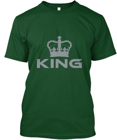 King Deep Forest T-Shirt Front