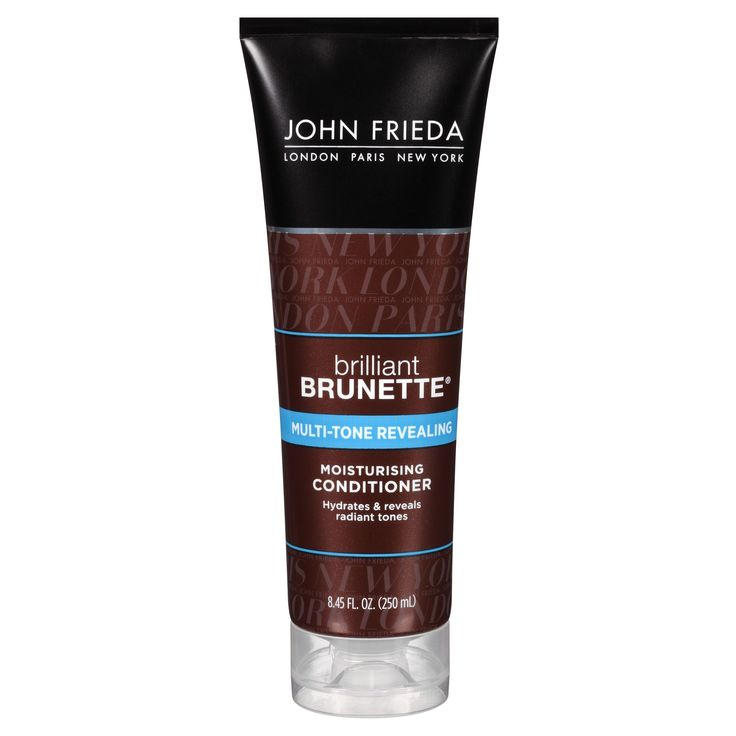John Frieda Brilliant Brunette Moisturizing Conditioner - 8.45oz
