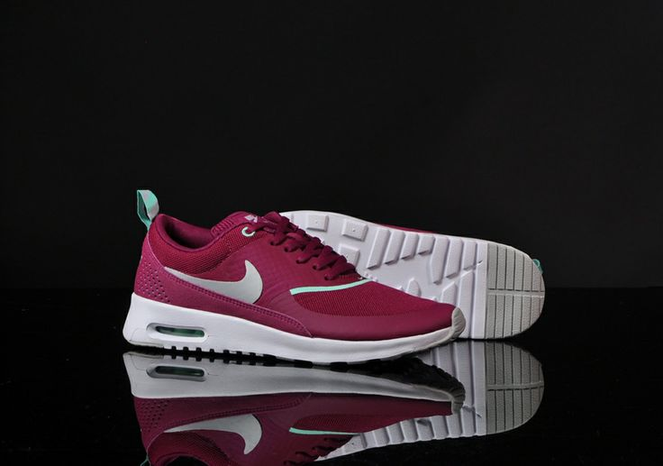 nike air max thea dames bordeaux rood