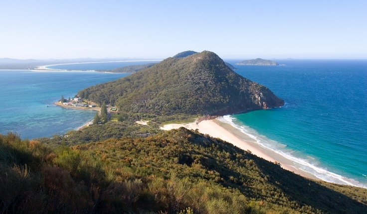 The View from Port Stephens Peak