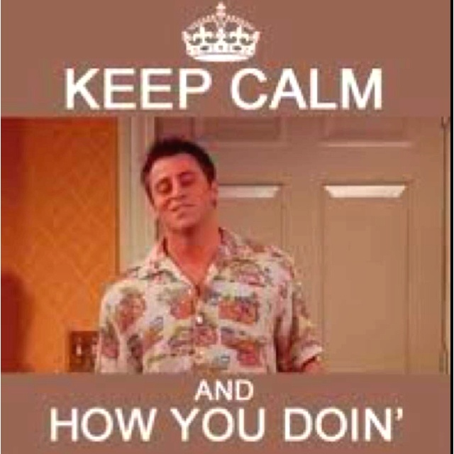 #joey #friends #tv .,.How you doin? ;)
