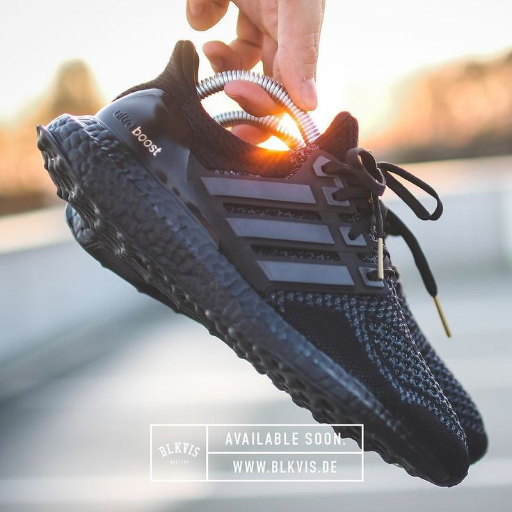 The 'Adidas Ultra Boost All Black' is Available Soon at www.blkvis.de…