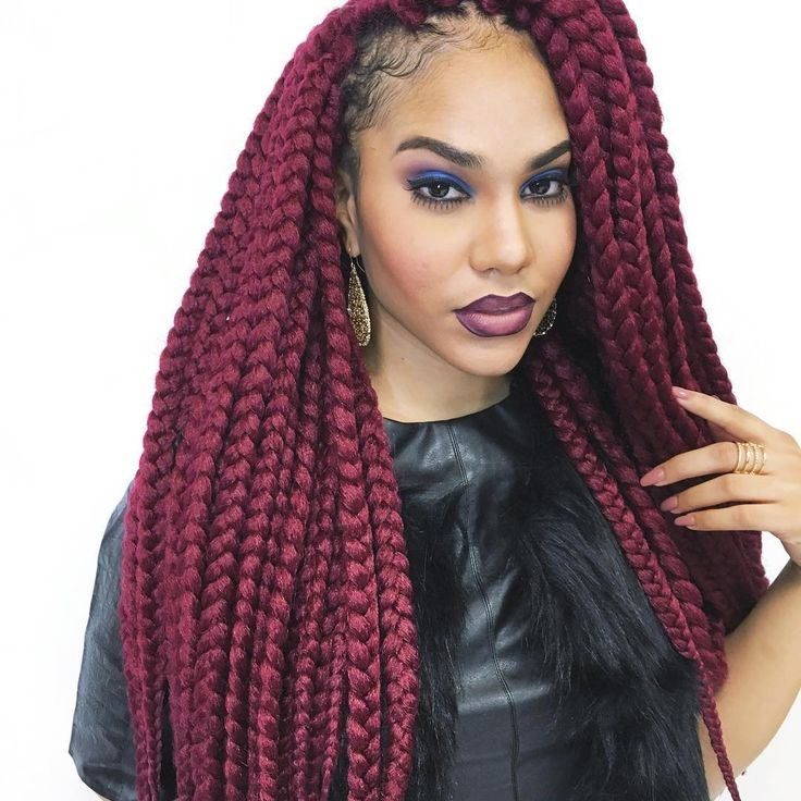 455 Best Box Braids Images On Pinterest Corn Braids
