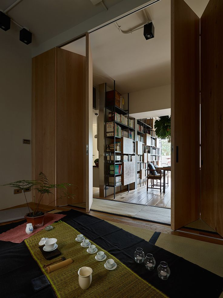 Beautiful house full of color located in the taipei city suburbs