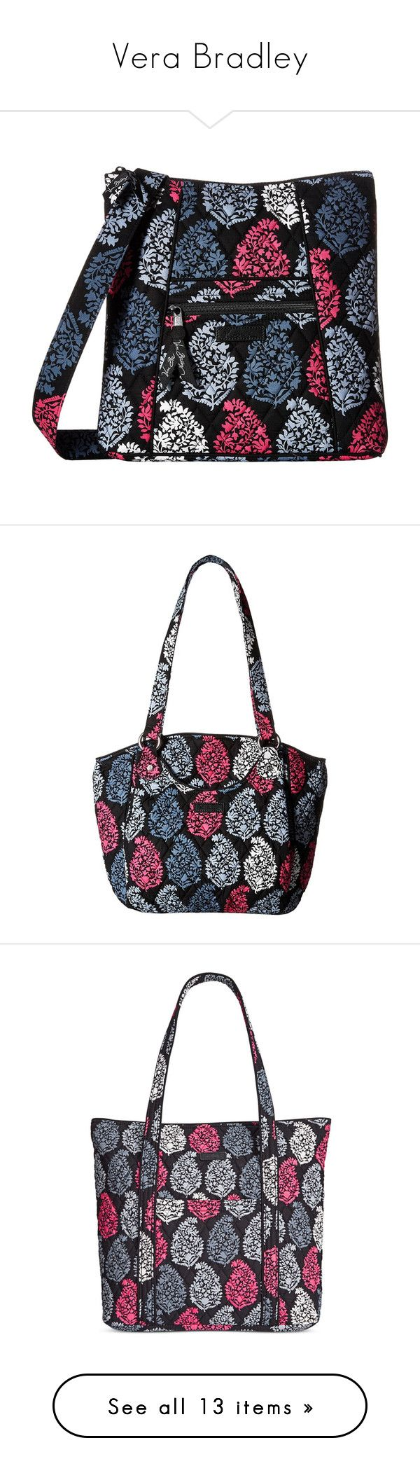 """Vera Bradley"" by ariellejsmith ❤ liked on Polyvore featuring northern lights, bags, handbags, shoulder bags, vera bradley handbags, hand bags, shoulder strap bags, purses crossbody, shoulder strap handbags and tote bags"