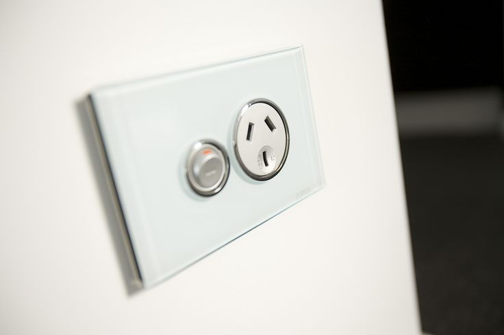 The little details act to reinforce the luxury of this space with stylish switches completing the look.