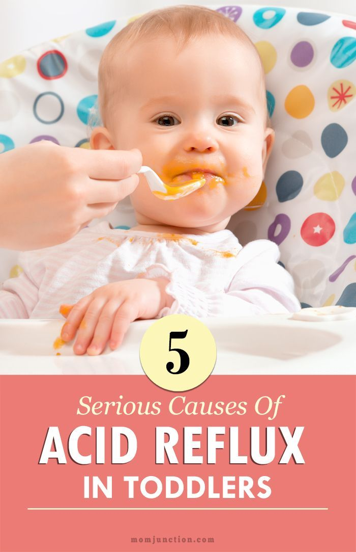 5 Serious Causes Of Acid Reflux In #Toddlers