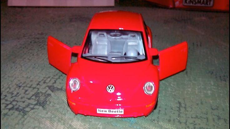 Volkswagen Beetle Unboxing Toys  Распаковка игрушек Фольксваген Жук
