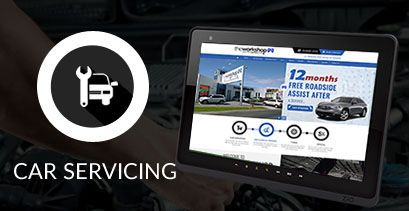 Book a Service - The Workshop Automotive Service Centre & Tryes. Book your car in today!
