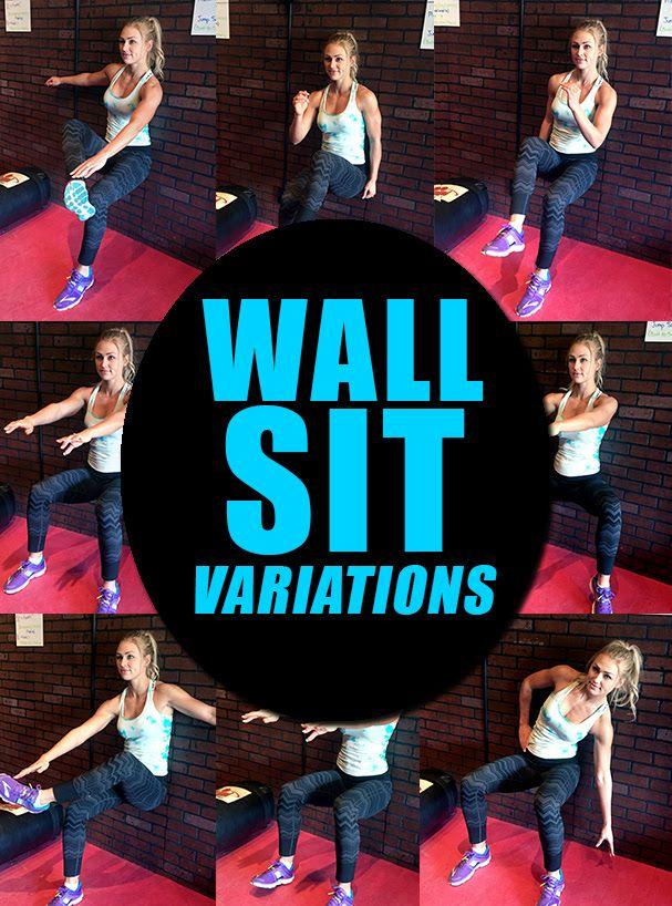 Summer Slim-Down Challenge Week 5 - Wall Sit Variations