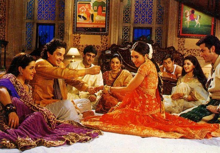 Hum Saath Saath Hain love this movie!! its 3hrs but worth watching