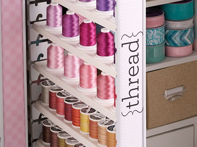 Inspira Studio Thread Cabinet Husqvarna Viking