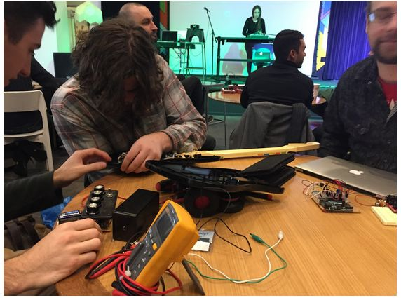 Bent-Tronics: Great write up of Glitch Music Hackathon: Circuit ...