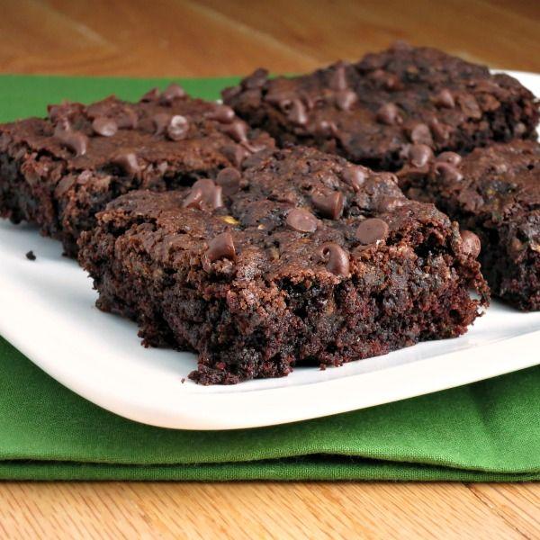 brownies with chocolate ganache zucchini chocolate chip brownies