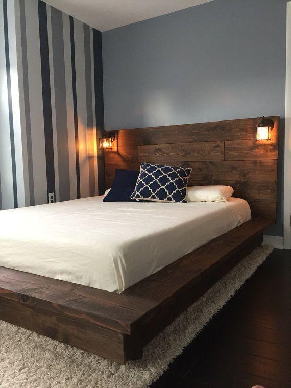 Since Modern People Like The Simple Multifunctional Furniture You Should Choose The Folding Bed Th Wood Platform Bed Frame Bed Frame Design Wood Platform Bed