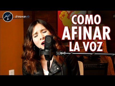 Cantar notas altas con laringe relajada - Tecnica De Voz - Clases De Canto - YouTube