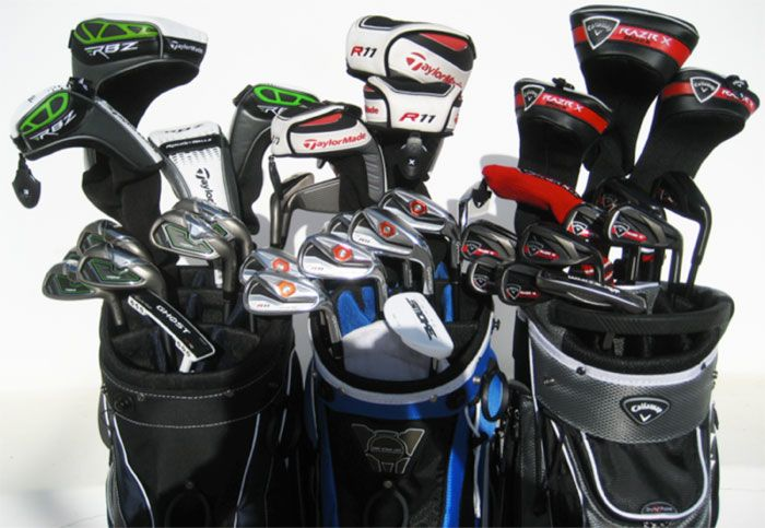 Golf clubs and kits