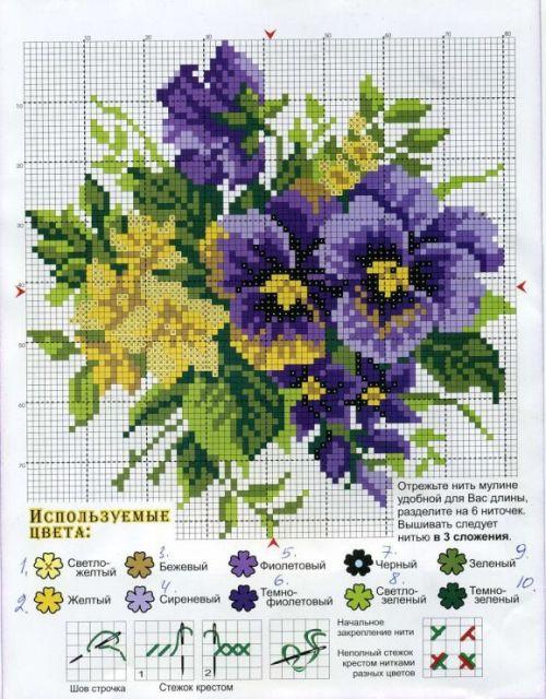 Пример цветка