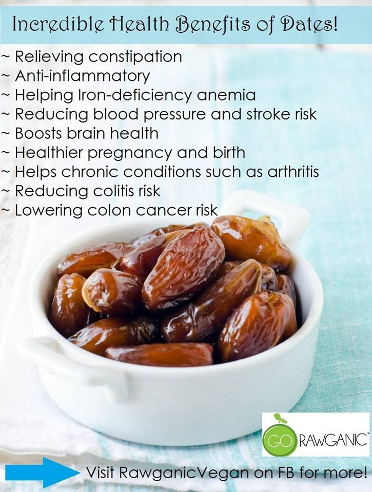 Benefits of dates / Bienfaits des dattes | Nutrition saine | Pinterest